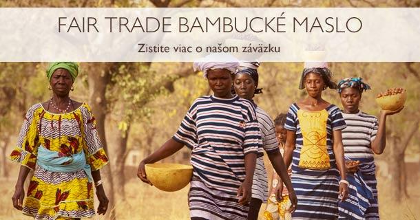 Fair Trade Bambucké maslo