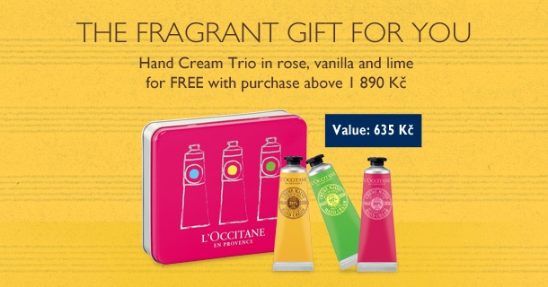 The fragrant gift for you