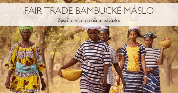 Fair Trade Bambucké máslo