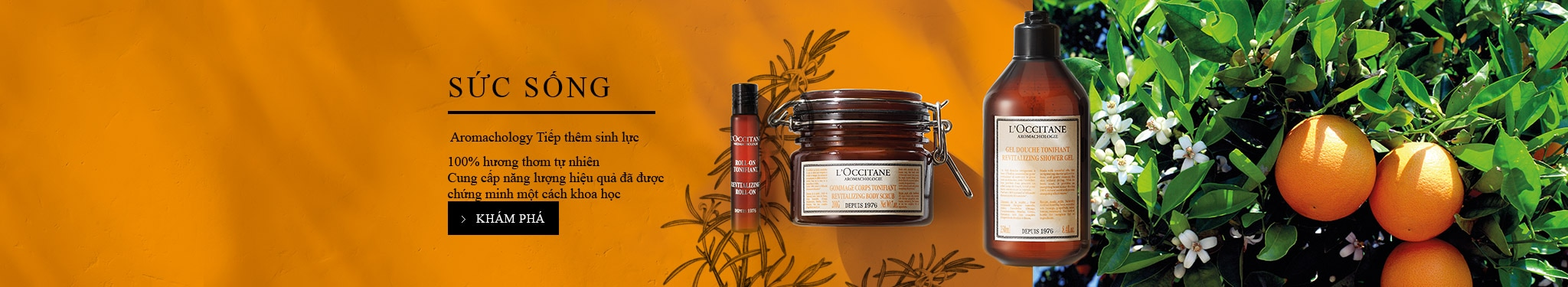 body care aroma