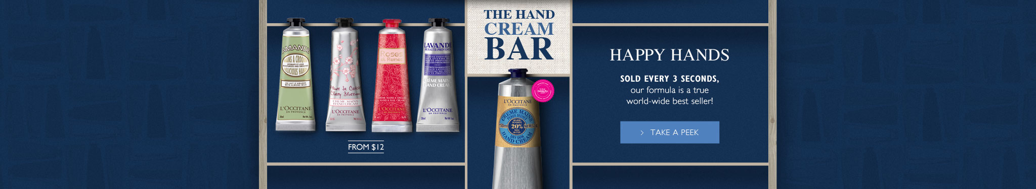 Happy Hands - Shea Butter hand cream bar