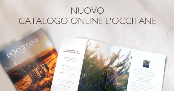 catalogo e- L'Occitane en Provence