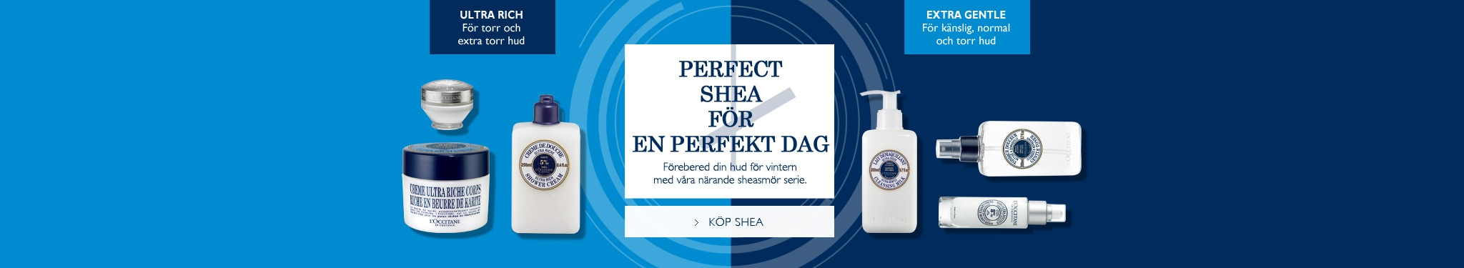 Perfekt Shea för en perfekt dag