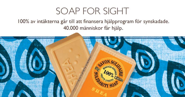 Soap for sight
