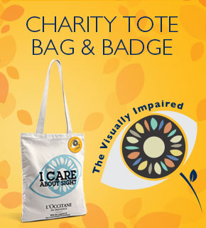 Charity Tote Bag & Badge