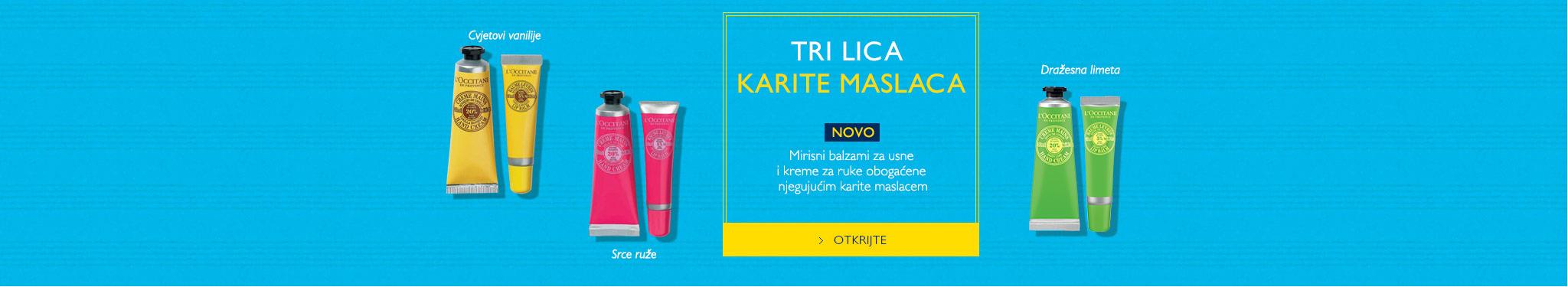 TRI LICA KARITE MASLACA