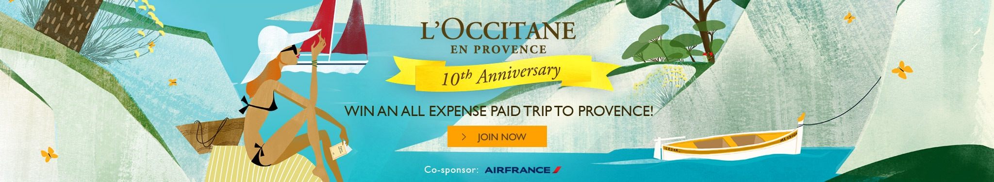 Celebrating 10 years Anniversary - stand a chance to win a trip to Provence!