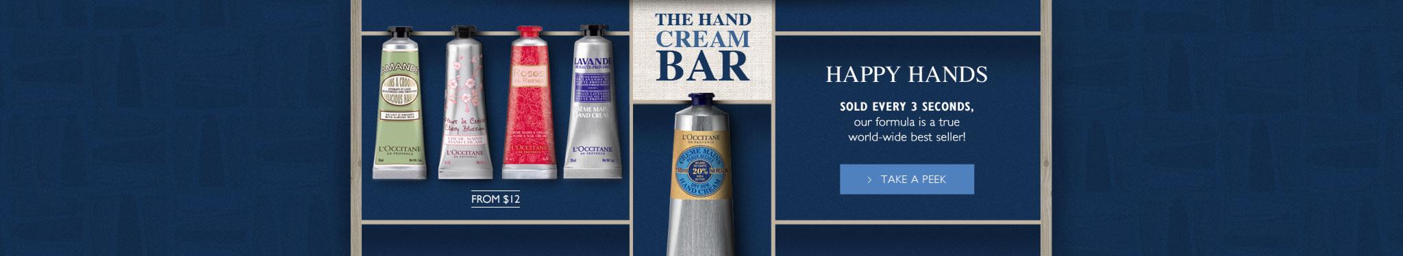 Shea Hand Cream Bar