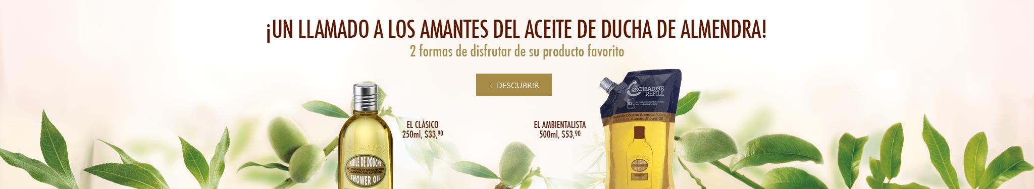 Enriquecido con aceite de almendra y lípidosque dejan la piel suave, satinada y con un delicado perfume de almendras