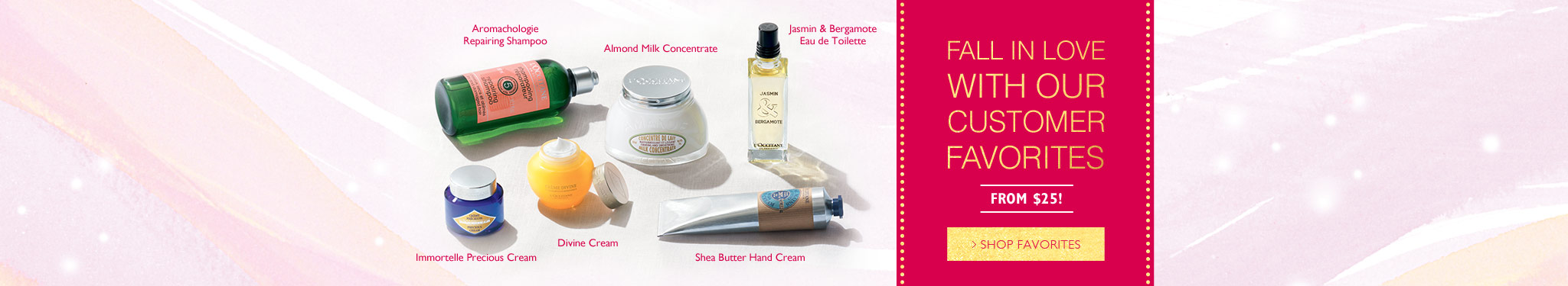 L'OCCITANE customer favorites