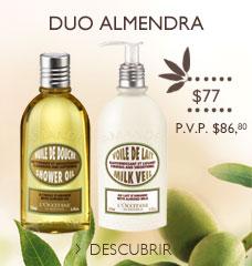 Precio especial Duo de Almendra