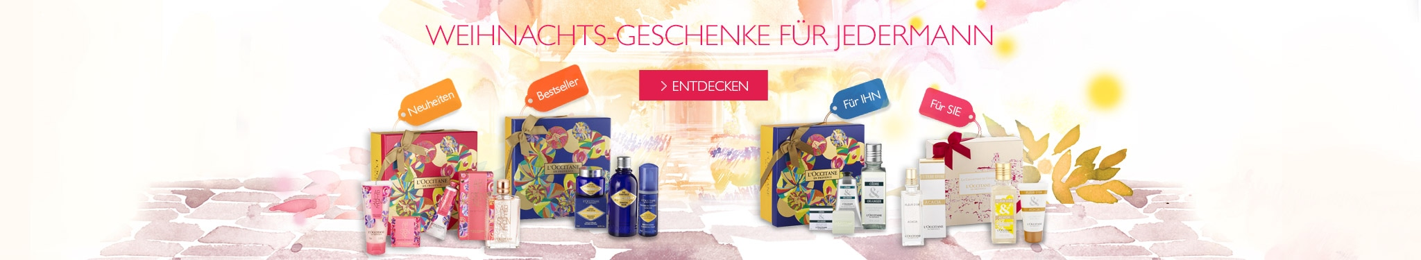 WEIHNACHTS-GESCHENKE FÜR JEDERMANN