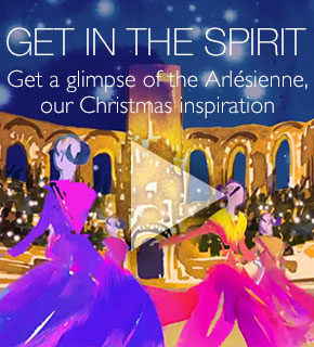 get in the spirit- get a glimpse of Arlesienne