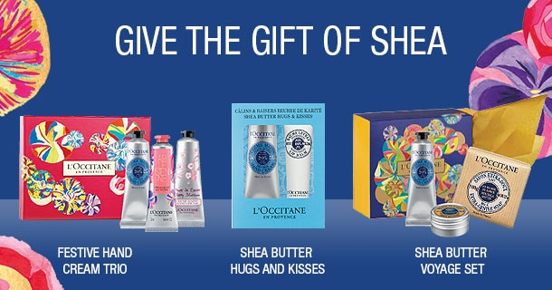 give the gift of shea this christmas- petit treats to delight