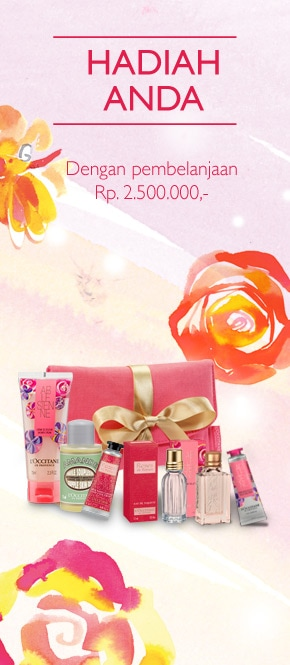 Hadiah Anda dengan pembelanjaan senilai Rp 2.500.000