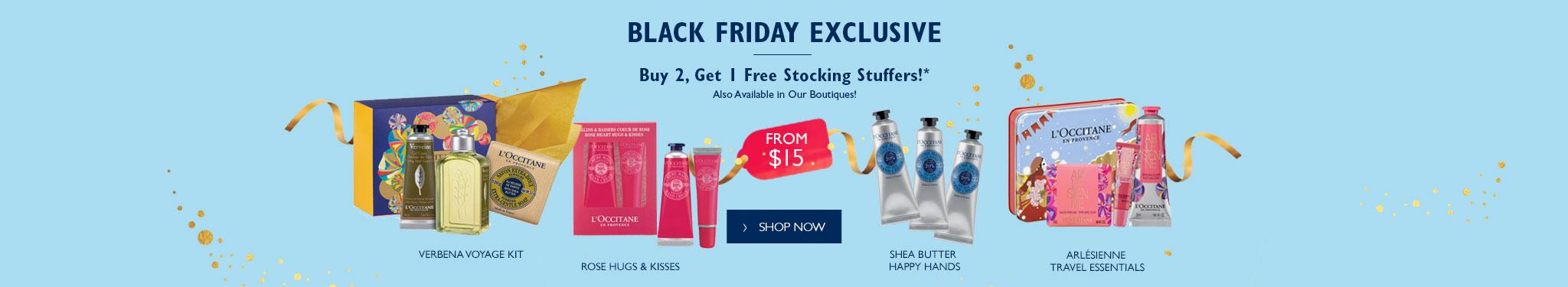 Black Friday Buy 2 Get 1 Free stocking stuffers