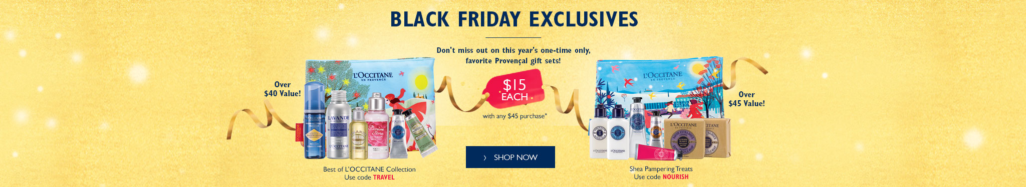 Black Friday Exclusive - Don't miss out on this year's one-time only favorite provencal gift sets!