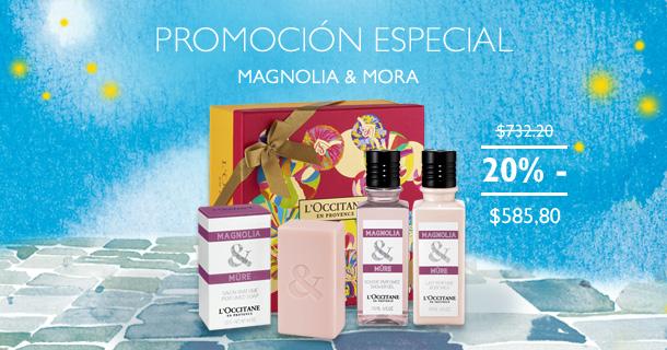 Promocion Magnolia y Mora