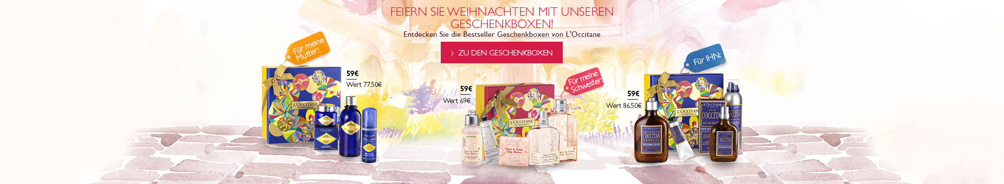 Best giftsets L'Occitane