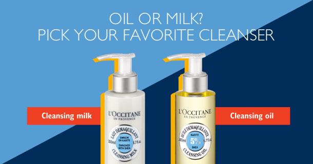Oil or Milk
