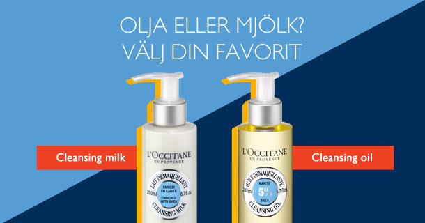 Olja eller mjölk? Välj din favorit