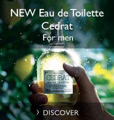 NEW Eau de Toilette Cedrat