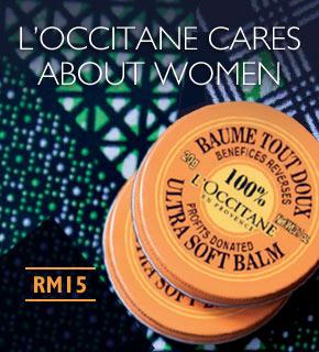 L'OCCITANE CARES ABOUT WOMEN