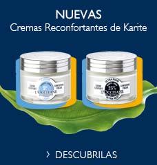 Crema reconfortante de karite
