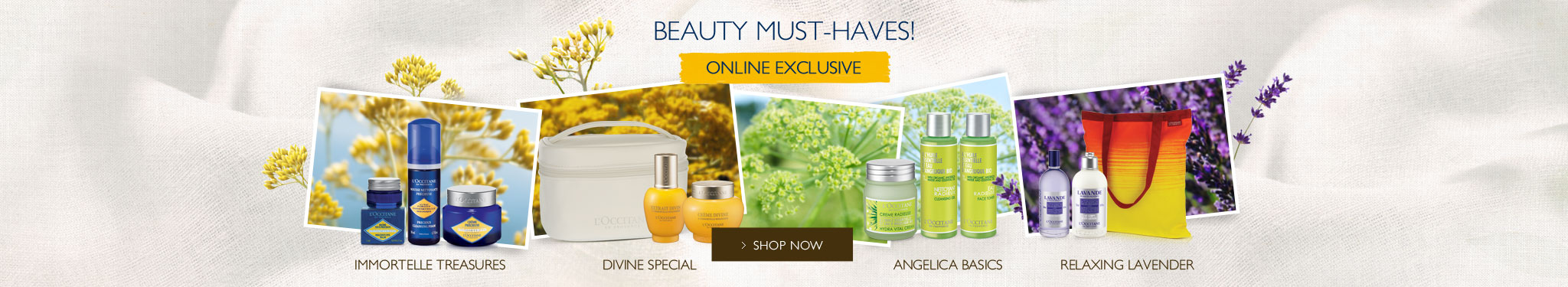 Beauty must haves! online exclusive