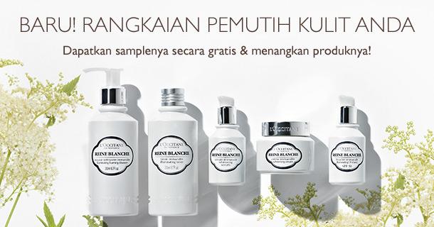 Dapatkan samplenya secara GRATIS & menangkan produknya!