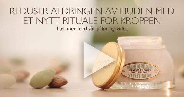 Reduser aldringen av huden med et nytt rituale for kroppen