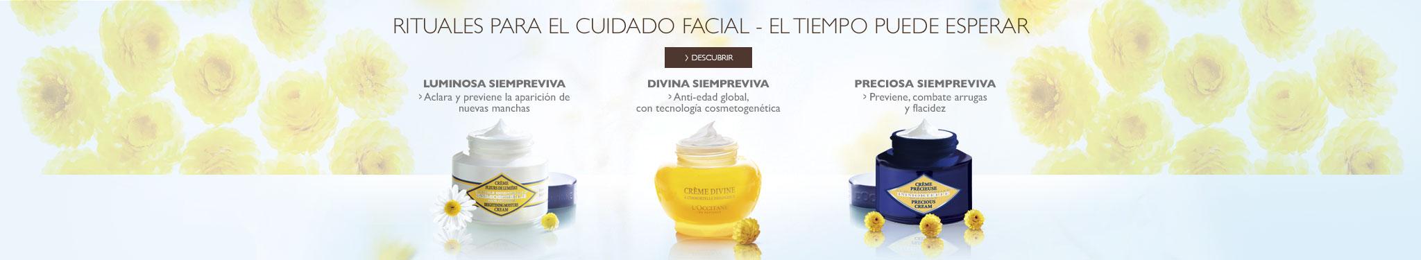 cremas faciales para cada necesidad