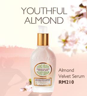 Almond Velvet Serum RM210