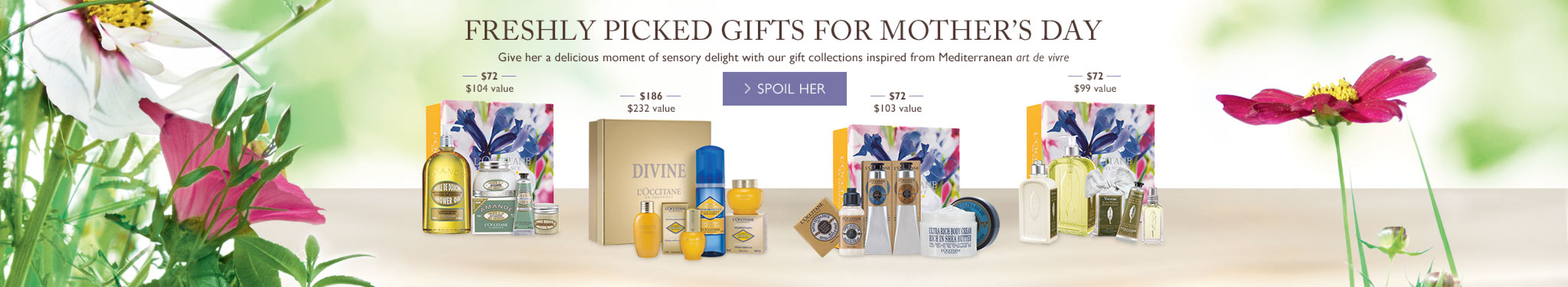Freshly Picked Gifts for Mother's Day