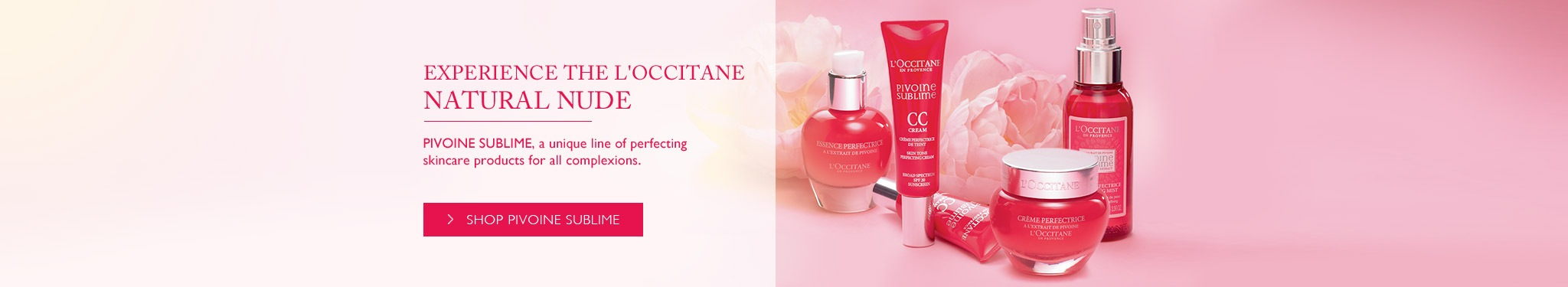 Experience the L'Occitane natural nude