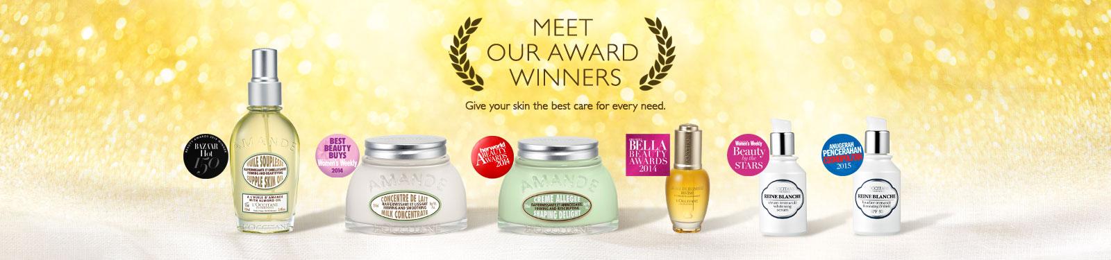 Meet our award winners