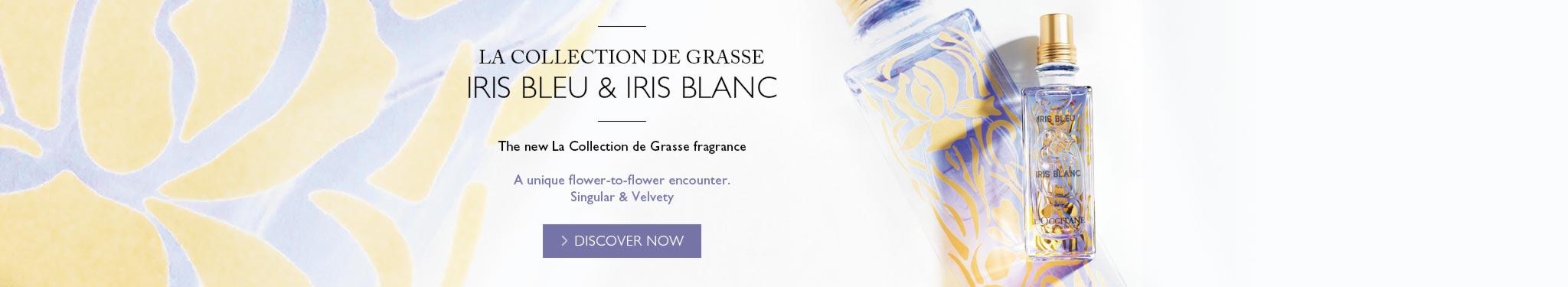La Collection de Grasse Iris Bleu & Iris Blanc