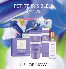 Petite Iris Bleu