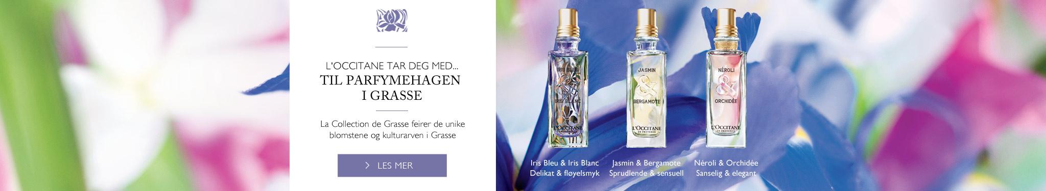 Til parfymehagen i Grasse