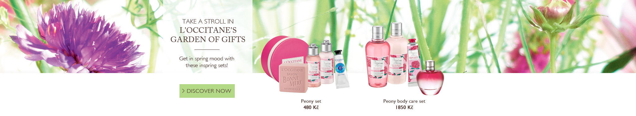 Take a stroll in L'OCCITANE's garden of gifts