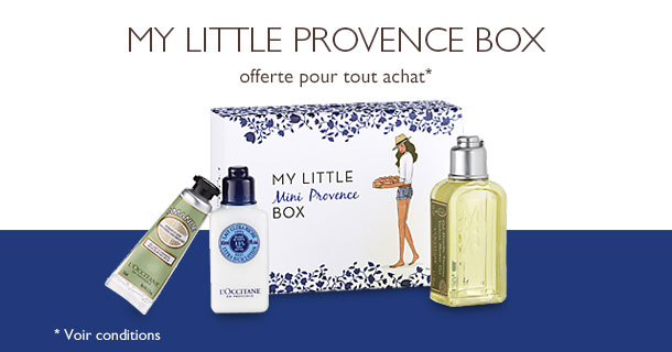 My Little Box et L'Occitane