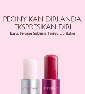 Peony-kan Diri Anda, Ekspresikan Diri dengan Pivoine Tinted Lip Balms