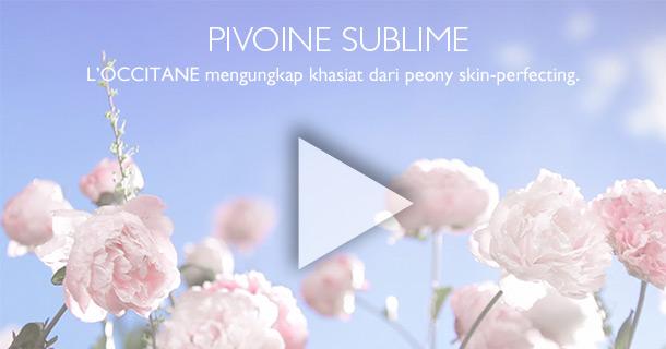 Pivoine Sublime. L'OCCITANE mengungkap khasiat dari Peony skin-perfecting.