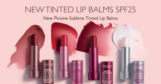 New Tinted Lip Balms