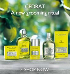 Cedrat a new grooming ritual