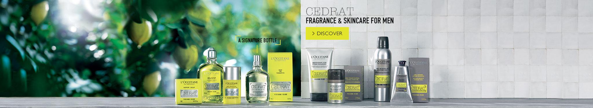 Cedrat Fragrance & Skincare For Men
