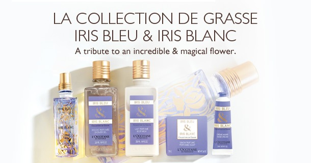 Iris Bleu & Iris Blanc, a tribute to an incredible & magical flower