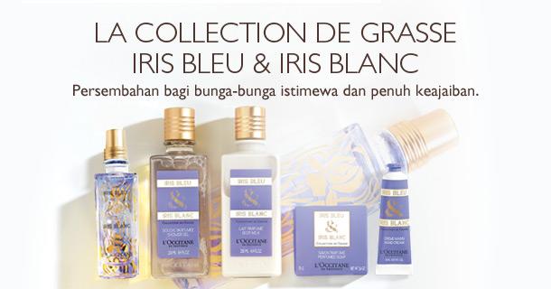 Iris Bleu & Iris Blanc, persembahan bagi bunga-bunga istimewa dan penuh keajaiban