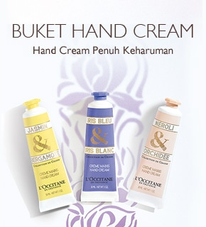 Hand Cream penuh keharuman
