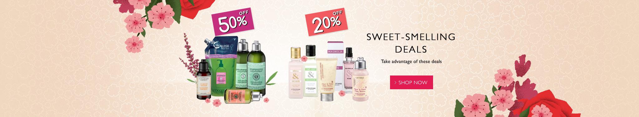 Sweet-smelling Deals